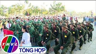 THVL | Lễ giao nhận quân tại thị xã Bình Minh