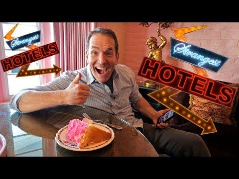 Strangest Hotels #1: Madonna Inn! VR180 3D Experience
