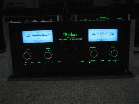McIntosh MA-6500 in action