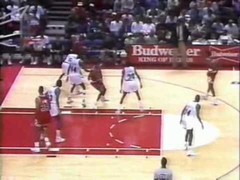 November 3, 1990 Bulls @ Bullets