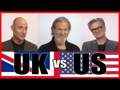 UK vs US with the cast of Kingsman: The Golden Circle