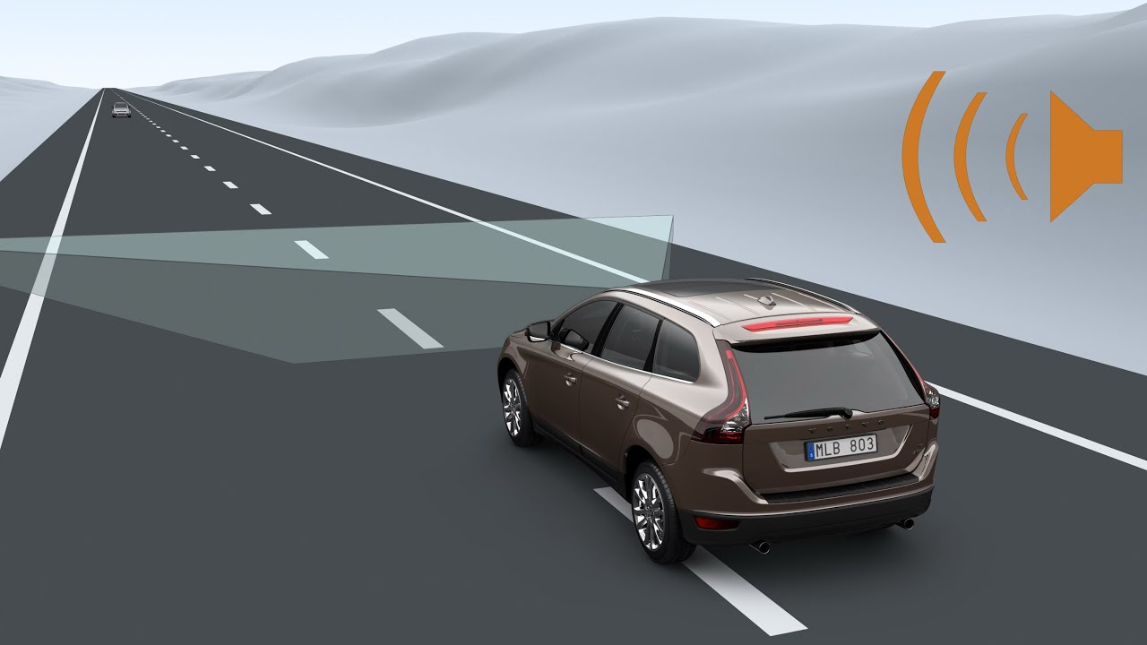 Volvo lane assist