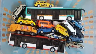 Box full of Siku Cars for Kids with Bus and more Siku Cars