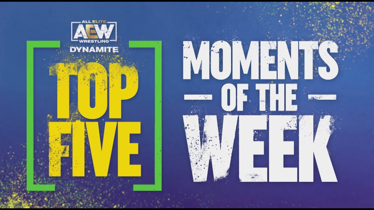 AEW Dynamite Top 5 Moments of the Week | 4/28/21