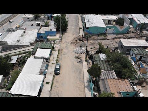 JUAREZ MEXICO SLUMS (DRONE FOOTAGE)