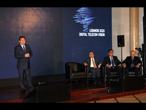 Minister Boutros Harb_Lebanon 2020 Digital Telecom Vision