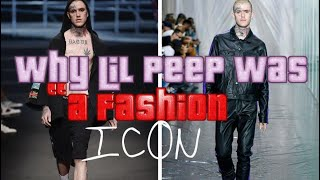 Why Lil Peep Was a Fashion Wizard