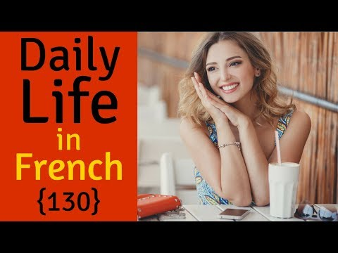 Learn French For Daily Life 😎130 Daily French Phrases 👍 English French