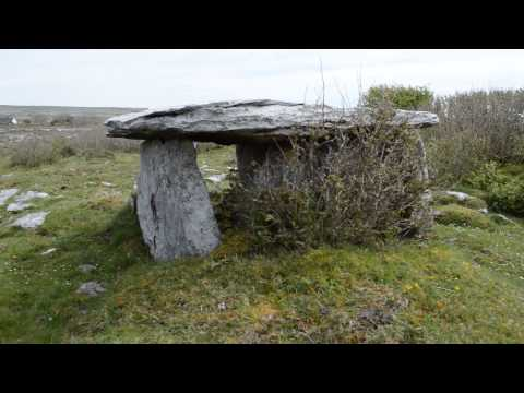 Gleninsheen Wedge Tomb  The Burren Co. Clare