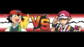 Repeat youtube video Pokemon: Red VS Ash (Kanto-Team)
