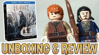 The Hobbit Blu-ray With Bard & Bain Minifigs - Unboxing & Review