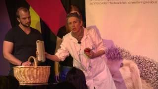 """Hannelore Breitenbach-Koller: """"Neue Therapie Für Schmetterlingskinder"""" (Science Slam Salzburg 2015)"""