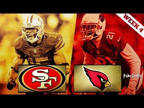 San Francisco 49ers VS Arizona Cardinals Week 4 NFL 2017 Postgame Gathering