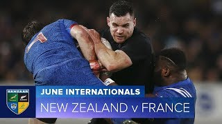 2018 June Test Series:  Second Test – New Zealand v France