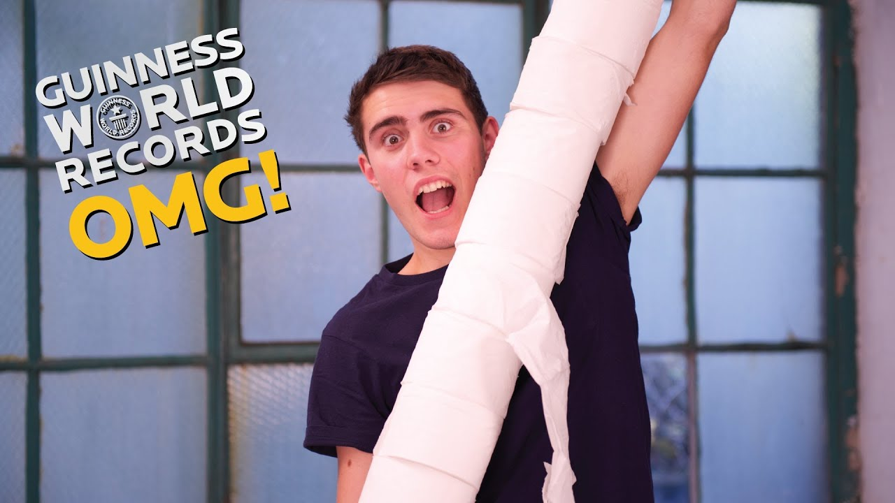 Tallest TOILET Paper Tower Do Try This At Home Ep21