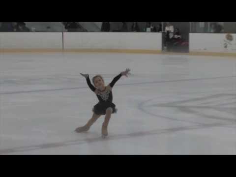 Daria Mavropoulou Stroliarenko Compete USA Palm Beach Ice Works 2017