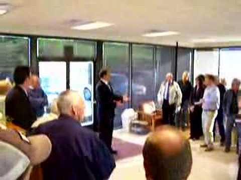 Congressman Heath Shuler at Iotla Airport