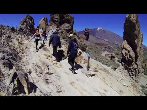Teneriffa 2014 - Upp på Teide
