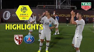 FC Metz - Paris Saint-Germain ( 0-2 ) - Highlights - (FCM - PARIS) / 2019-20