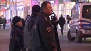 29.01.2017: Drei Verletzte bei Massenschlägerei in Rostocker City - Migrantengruppe greift Helfer an