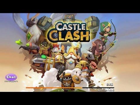 A New Castle Clash Platform