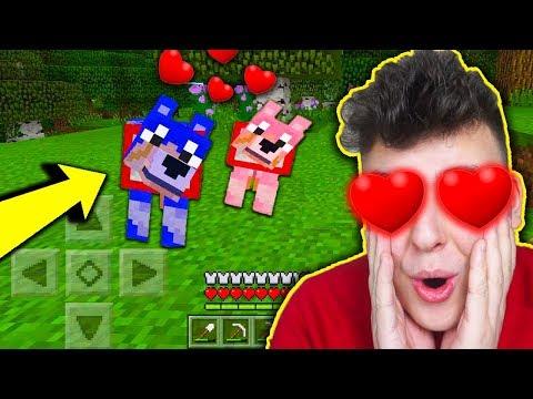 Minecraft na Telefon - MAM NOWYCH PRZYJACIÓŁ!!! #5