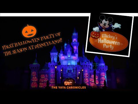 Mickey's Halloween Party 2018! FIRST NIGHT! || The YaYa Chronicles Mp3