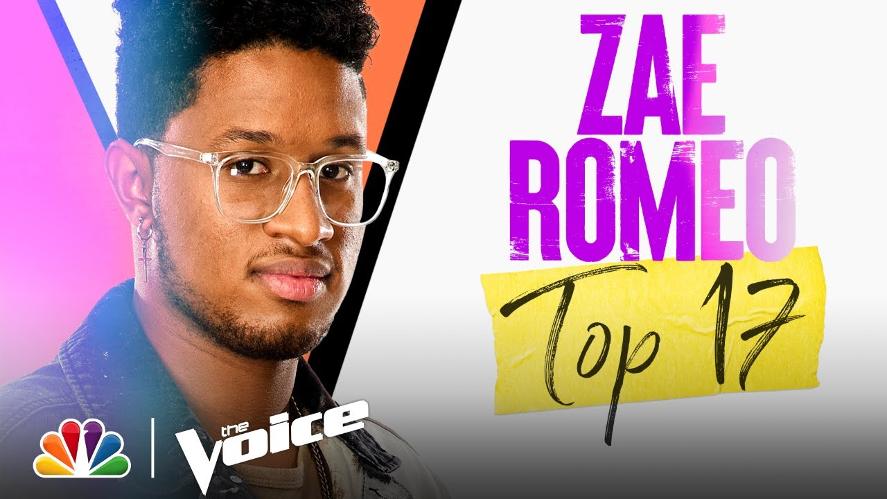 """Download Zae Romeo Sings Miley Cyrus' """"When I Look at You"""" - The Voice Live Top 17 Performances 2021"""