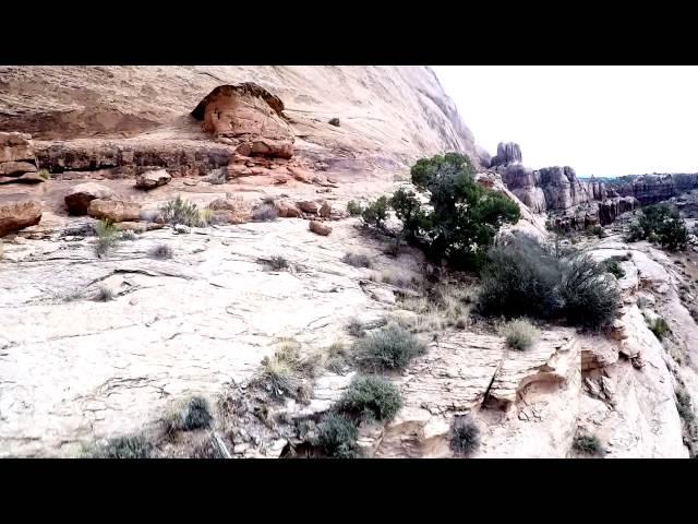 Flying around Moab, UT