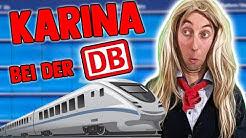 Karina bei der deutschen Bahn Teil 2 🚈 | Freshtorge