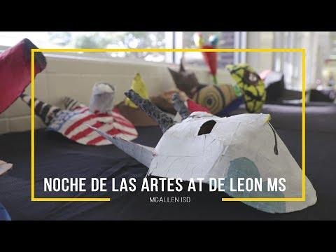 De Leon Middle School students showcase art!