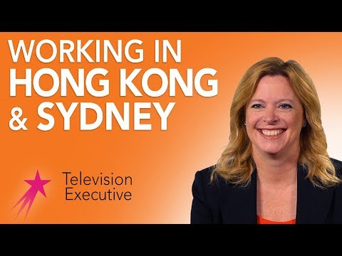 Television Executive: My Career Path Working Overseas - Kim Carver Career Girls Role Model