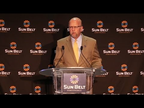 2015 Sun Belt Conference Media Day: Karl Benson State of the Conference