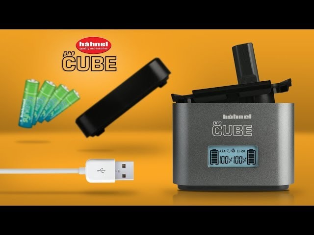 Hähnel ProCube Professional Twin Charger for DSLR Cameras