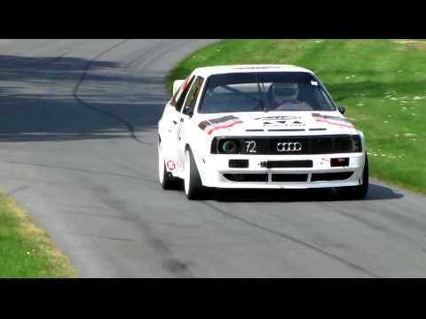 800HP AUDI QUATTRO TURBO GROUP B PIKES PEAK AMAZING SOUND, BEAUTIFUL CAR! Prescott Hill 2011