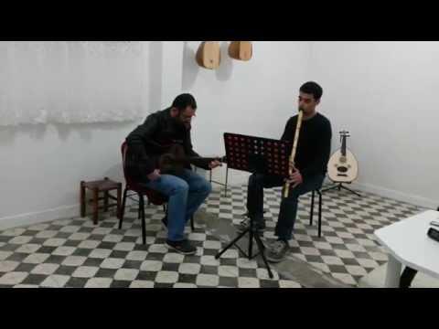 Ayrılık, ayrılık aman ayrılık enstrümantal fon müzik (ney gitar)