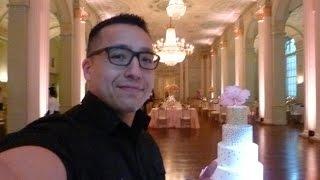 Atlanta Biltmore Hotel up lighting gig full vlog