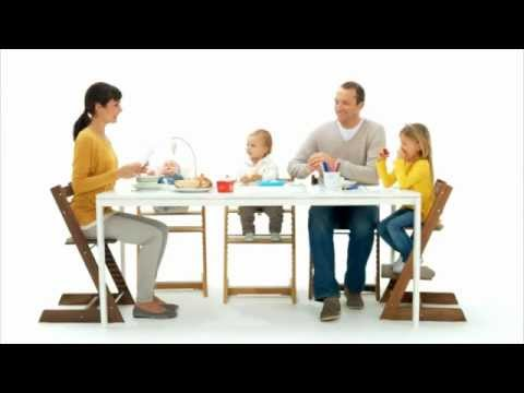 stokke tripp trapp chez v pi chaise volutive b b enfant paris et lille youtube. Black Bedroom Furniture Sets. Home Design Ideas