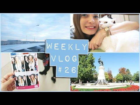 Weekly Vlog #26   Quick trip to Spain & London Fashion Weekend