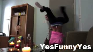 Most Violent and Funniest Girl Fails TOP 10!