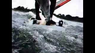 Hydrofoilsurfen am Nabel der Welt (www.groenwohld-camping.de)