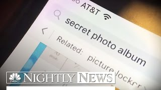 Colorado Sexting Scandal: Students Use 'Ghost Apps' To Hide It All| NBC Nightly News
