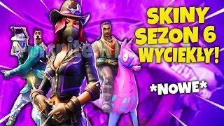 LEAKED NEW SEASON 6 SKINS! * BATTLE PASS! * No clickbait * Fortnite Battle Royale