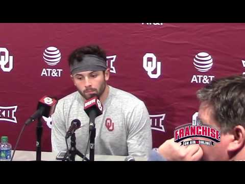 Baker Mayfield 10/22 Texas Tech Postgame