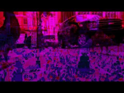 Modern art video collage (contemporary art)