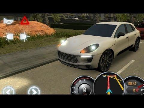 Porsche Driving School 2016, Porsche Macan with Steering Wheel, Car Driving Games Mobile GamePlay