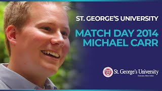 Match Story - Dr. Michael Carr - SGUSOM
