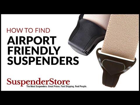 Airport Friendly SuspenderStore Mens Undergarment Suspenders