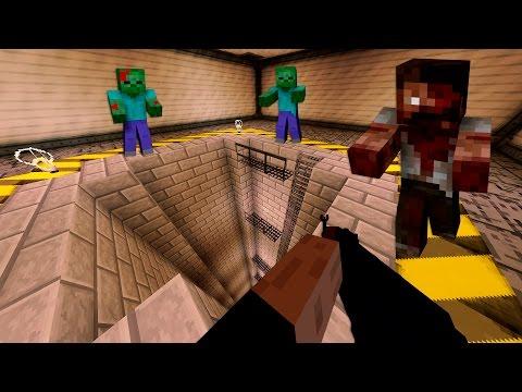База ФБР. День 8.  Зомби Апокалипсис в Майнкрафт