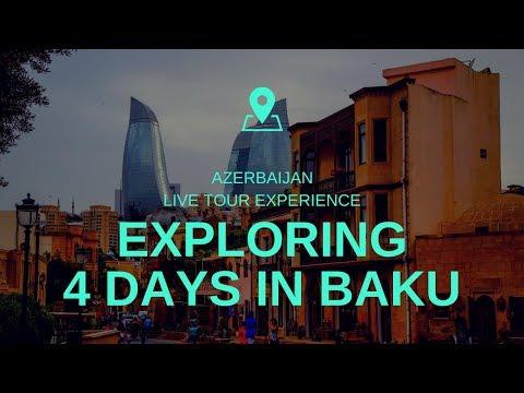 4 Days in Baku Azerbaijan | Baku Travel Guide, City Tour with Itinerary